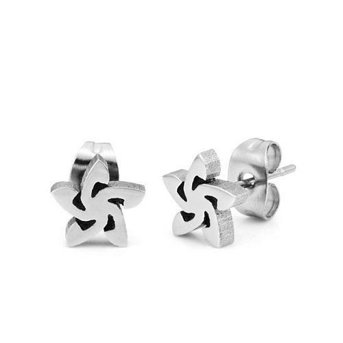 Stainless Steel Earring Star