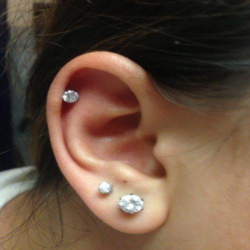 diamond Helix ear jewelry