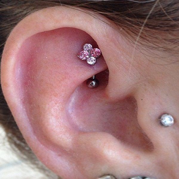 jewelry rook piercing gems