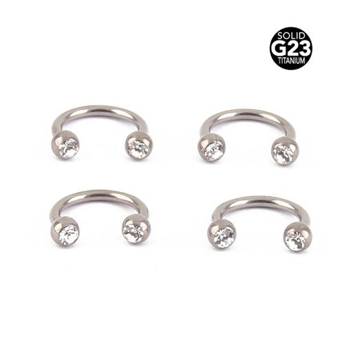 circular eyebrow piercing jewelries