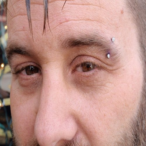 eyebrow piercing jewelries for men