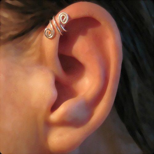 Helix ear jewelry designs