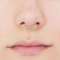 Everything You Need To Know About Septum Jewelry Piercings