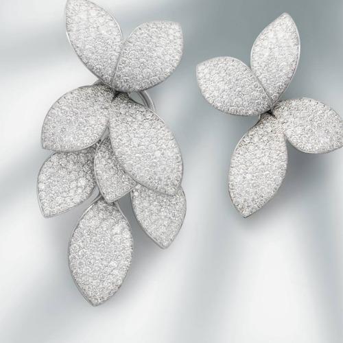 silver ear piercing clip