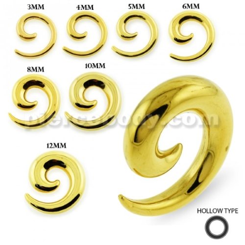 gold ear expander