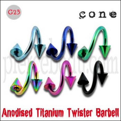 titanium twister barbells