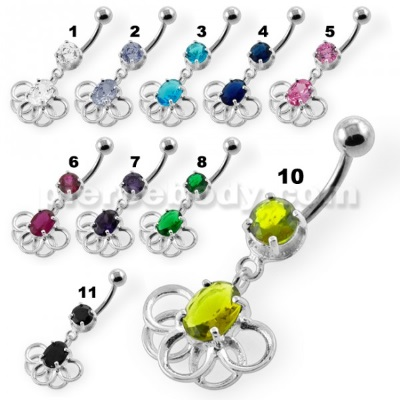 belly button piercing jewelry