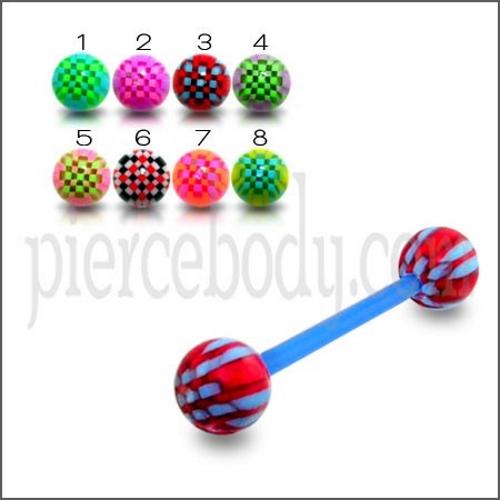 rainbow uv balls