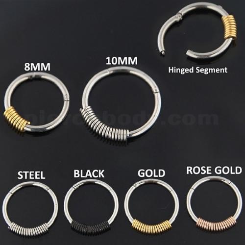 segment ring types