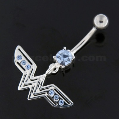 surgical steel belly button jewelry collection