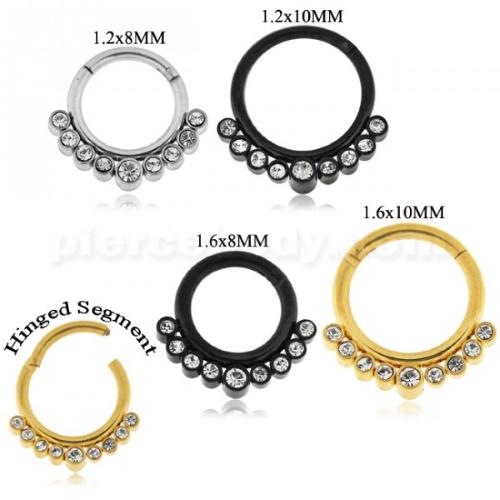 types of segment ring