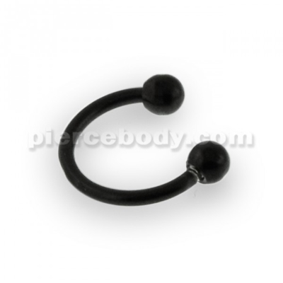 anodized circular barbell