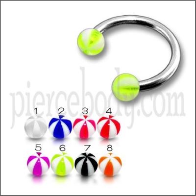 circular UV Barbells