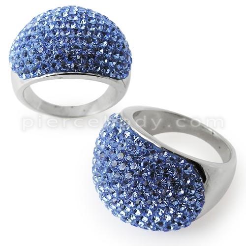Austrian blue crystal