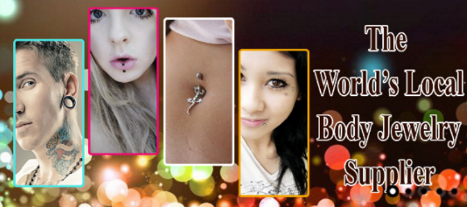 body jewelry supplier