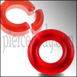 red uv segment rings
