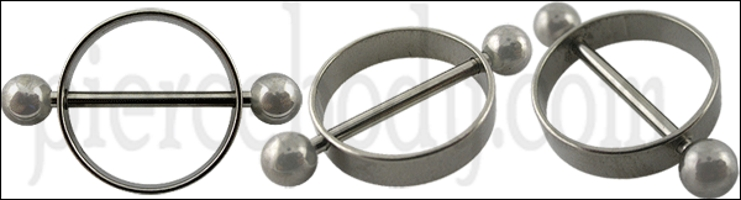 surgical steel nipple ring designs