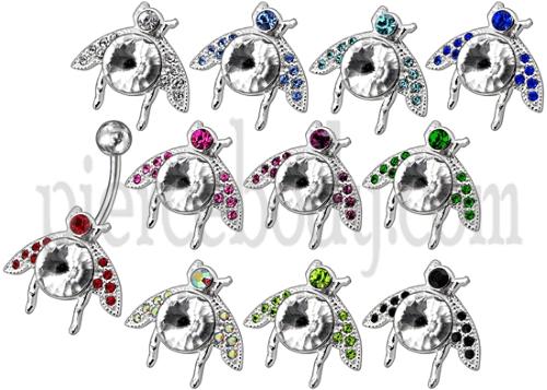 titanium belly ring