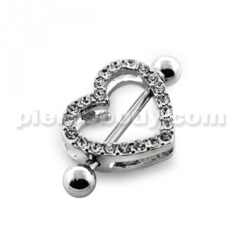 multi jeweled nipple jewelry