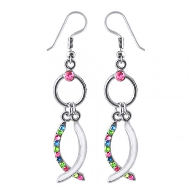 478516504b9a Best Prices for Multi Color Crystal Dangling Costume Earring