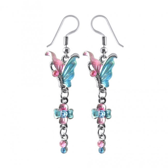 ab33678bfdb8 Best Prices for Multi Crystal Dangling Costume Earring CLER0