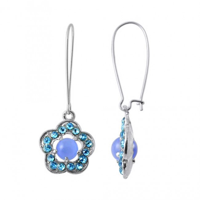 aa24249f9fa5 Best Prices for Multi Crystal Stone Costume Earring-CLER035