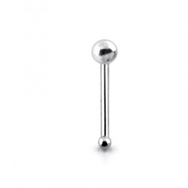 Best Prices For 925 Silver Top Ball Nose Stud Snp017 Pierc