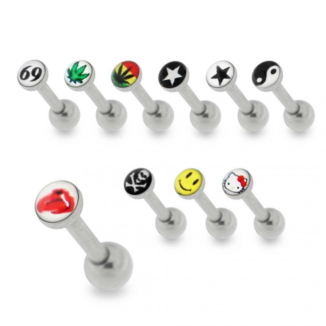 3 Mm Logo Cartilage Helix Tragus Piercing Ear Stud